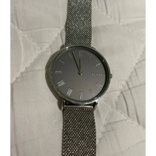スカーゲン(SKAGEN)のスカーゲン 腕時計 シルバー 34MM 箱付き(腕時計)