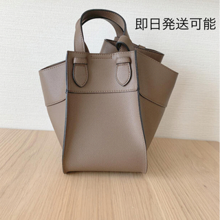 しまむら - 【新品】 しまむら  2wayバッグ  合皮変形バッグ 淡茶色