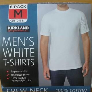コストコ(コストコ)の【コストコ】メンズ ホワイトTシャツ  M 2枚(Tシャツ/カットソー(半袖/袖なし))