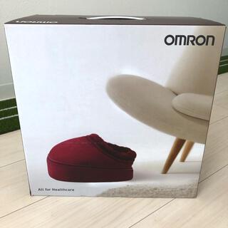オムロン(OMRON)の新品 未使用 オムロン フットマッサージャー(マッサージ機)