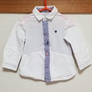 familiar - familiar カットソーシャツ 90サイズ♥️