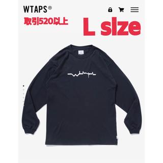 W)taps - WTAPS VIBES SCREEN L/S TEE BLACK Lサイズ