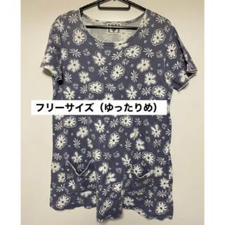 レディース Tシャツ 花柄 冬前一斉セール中!10月31日まで!