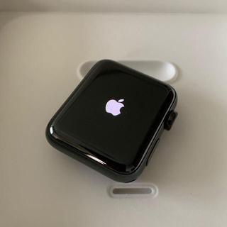 Apple Watch - apple watch series3GPS+セルラーブラックステン 42mm