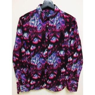 ポールスミス(Paul Smith)のポールスミス 紫 モード シャツ ラッドミュージシャン グッチ プラダ コーチ(シャツ)