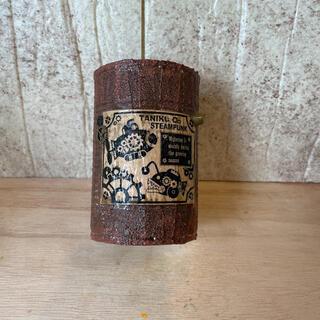 モルタルリメイク缶28 リメ缶 ハンドメイド