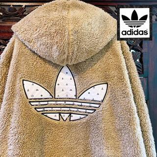 adidas - アディダス オリジナルス ジャケット パーカー ボア くま ジャージ コート
