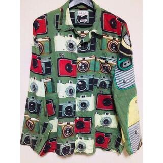 ポールスミス(Paul Smith)のポールスミス 緑 柄 パジャマ シャツ バーバリー プラダ グッチ ヴィヴィアン(シャツ)