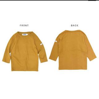 【新品未使用タグ付】110 ジャガードストレッチ長袖Tシャツ