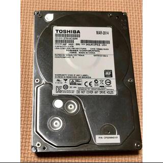 東芝 - TOSHIBA 2TB HDD 7200回転