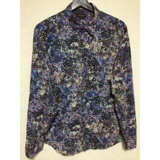 ポールスミス(Paul Smith)のポールスミス 紫 モード シャツ ラッドミュージシャン プラダ コーチ グッチ(シャツ)