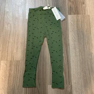 コドモビームス(こども ビームス)の新品 mini sibinng ミニシブリング リボン柄レギンス(パンツ/スパッツ)