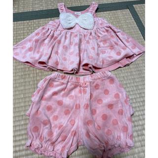 キッズズー(kid's zoo)のキッズズー リボンセットアップ(Tシャツ/カットソー)