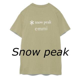 スノーピーク・Snow peak ◆emmi◆ Tシャツ・テント柄(Tシャツ(半袖/袖なし))