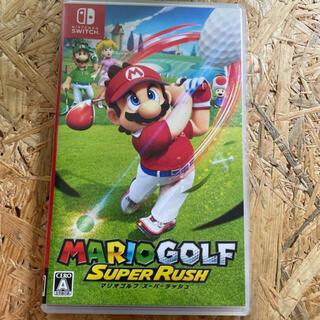Nintendo Switch - 中古 マリオゴルフ スーパーラッシュ Switch 任天堂 ソフト