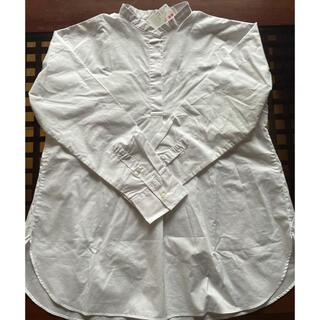UNIQLO - ユニクロ スタンドカラー シャツ(新品)