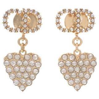 Christian Dior - クリスチャンディオール CLAIRDLUNE ピアス 金 40802003423
