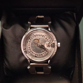 リコー(RICOH)のリコー  手巻き式腕時計 (スケルトン仕様)(腕時計(アナログ))