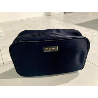 PRADA - Prada 新品ナイロンポーチ 黒