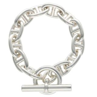 エルメス(Hermes)のエルメス シェーヌダンクルTGMシルバーブレスレット 12LINK(ブレスレット/バングル)