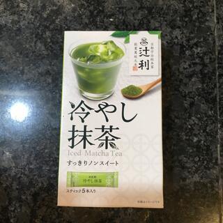 辻利 冷やし抹茶 スティック5本(茶)