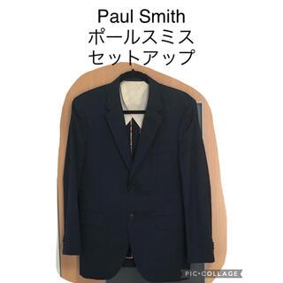 ポールスミス(Paul Smith)の美品 ポールスミス PAUL SMITH 花柄 ネイビー スーツ セットアップ(セットアップ)