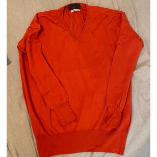 フレームワーク(FRAMeWORK)の【美品】FRAMeWORK Vネックセーター(ニット/セーター)