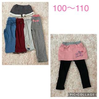 アンパンマン(アンパンマン)の子供服 スカート ズボン 100〜110 6点まとめ売り(パンツ/スパッツ)