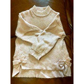 エフオーキッズ(F.O.KIDS)のリブタートル 女の子 秋冬 120(Tシャツ/カットソー)