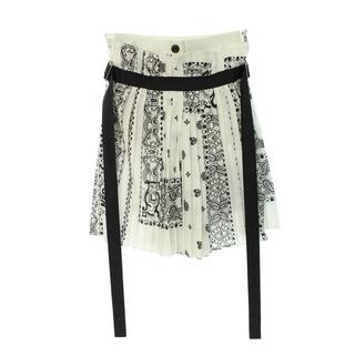 サカイ(sacai)のサカイ ペチコート付きペイズリープリーツスカートショートパンツ 1(ハーフパンツ)