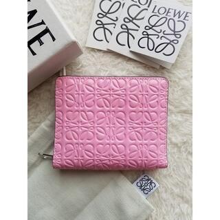 LOEWE - LOEWE ロエベ コンパクト ジップ 2つ折り財布