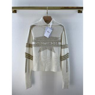 ディオール(Dior)のDIOR★スタンドカラーがおしゃれ DIORALPSセーター(ニット/セーター)