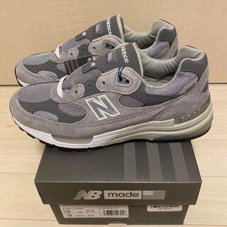 27cm New Balance 992 グレー