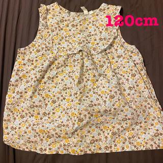 サマンサモスモス(SM2)のサマンサモスモス 花柄 トップス 120cm(Tシャツ/カットソー)