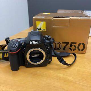 Nikon - ニコン nikon d750 中古美品