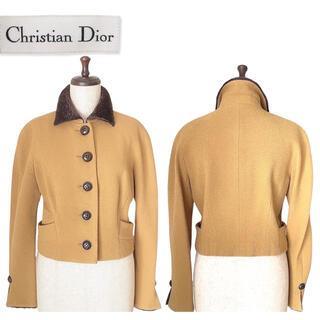 クリスチャンディオール(Christian Dior)のChristian Dior ヴィンテージ ジャケット レトロ(367)(テーラードジャケット)