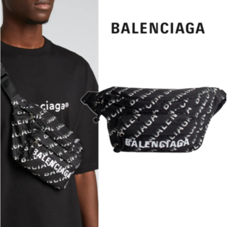 バレンシアガ(Balenciaga)のバレンシアガ Wheel Gradient ロゴ ベルトバッグ(ショルダーバッグ)