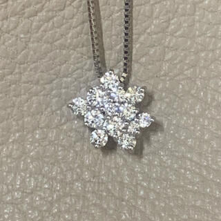 PT900ダイヤモンドペンダントネックレス