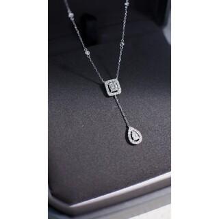 天然ダイヤモンドネックレス0.5ct k18