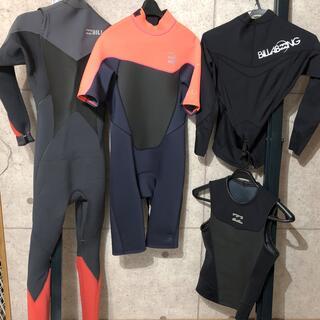 ビラボン(billabong)のbillabong ウェットスーツ類 4点セット(バラ売り可)(サーフィン)