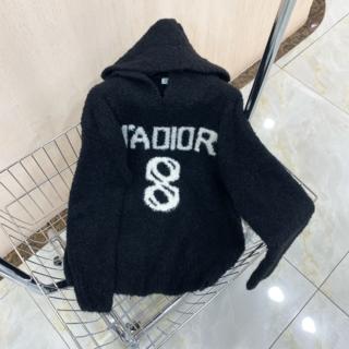 """ディオール(Dior)の☆Dior☆""""J'ADIOR 8"""" ウール&カシミア*フーディー(ニット/セーター)"""