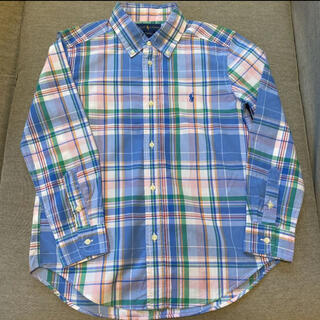 Ralph Lauren - 美品☆ラルフローレン チェックシャツ 130