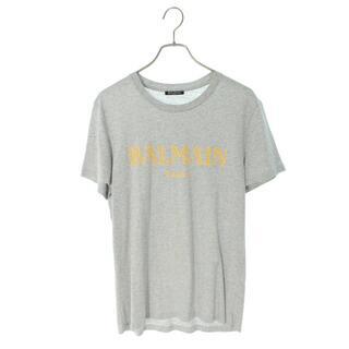 バルマン(BALMAIN)のバルマン RH116011056 フロントロゴプリントTシャツ L(Tシャツ/カットソー(半袖/袖なし))