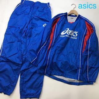 アシックス(asics)のasics アシックス 裏付きウィンドシャツ パンツセットアップ 上下セット(ウェア)
