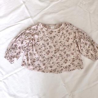 フタフタ(futafuta)のテータテート トップス 95 バースデイ ママラク フタフタ(Tシャツ/カットソー)
