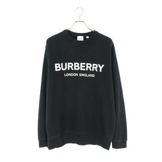バーバリー(BURBERRY)のバーバリー 8011357 ロゴプリントクルーネックスウェット L(スウェット)