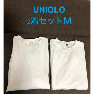 UNIQLO - UNIQLOユニクロ2着セット Tシャツ美品メンズ