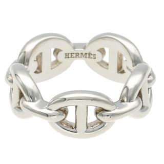 エルメス(Hermes)のエルメス シェーヌダンクルアンシェネPMシルバーリング 10号(リング(指輪))
