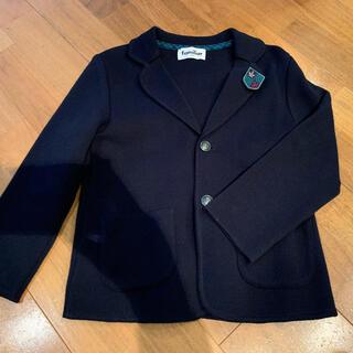 familiar - ファミリア ニットジャケット