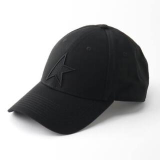 ゴールデングース(GOLDEN GOOSE)の【GOLDEN GOOSE】STAR BASE BALL CAP ブラック(キャップ)